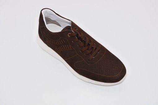 Pantofi sport piele intparca maro