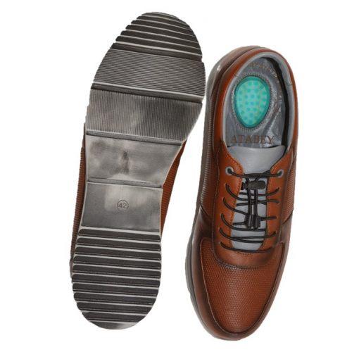 Pantofi sport piele maro barbati